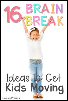 Try these fun brain break ideas to help active kids stay focused and learn at their best like yoga, Go Noodle, and printable cards. Brain break activities are great for incorporating movement into your day in and out of the elementary classroom. Time Management Activities, Behavior Management, Classroom Management, Movement Activities, Learning Activities, Activities For Kids, Teaching Ideas, Teaching Time, Physical Activities