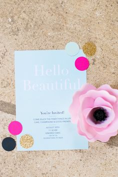Stationary, Kate Rose Creative Group, Paperflora- flower and Janeane Marie Photography