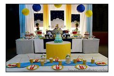 Kara's Party Ideas Little Prince Boy Fairytale Storybook 1st Birthday Party Planning Idea