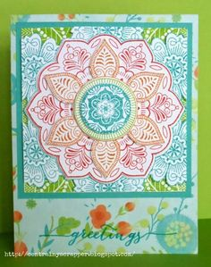 Stampaganza 2017  only lasts a few more days–until July 31–and the Exotic Flower stamp was brought back just for for Stampaganza. I was insp...