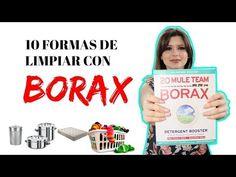 BORAX 10 FORMAS DE USARLO EN CASA Borax, Limpieza Natural, Eco Friendly, Formulas, Youtube, Daily Cleaning, Cleaning Recipes, Cleaning Recipes, Sew