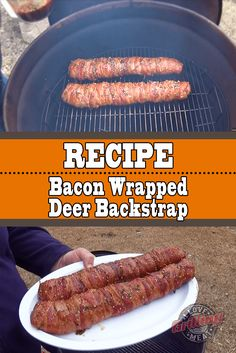 When it comes to deer, it doesn't get better than fresh venison backstrap. This bacon wrapped deer backstrap recipe takes this beautiful piece of meat to a whole new level. A level of mouth watering bacon and venison delight. Deer Backstrap Recipes, Deer Tenderloin Recipes, Venison Backstrap, Venison Tenderloin, Venison Recipes, Pot Roast Recipes, Grilling Recipes, Cooking Recipes, Venison Meals
