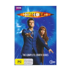 Doctor Who The Complete 4th Series DVD 6 Disc Set Brand New Forth Season Dr Who