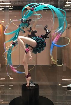 Vocaloid - 1/7 - Hatsune Miku - illustrated by mebae - Max Factory (?) - Statuen…