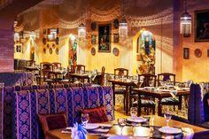 """Самый красивый дизайн ресторана - восточный ресторан в Челябинске (Персидский ресторан """"Хайям"""")."""