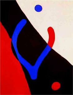 Frond and navel - Jean Arp