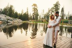 beautiful photo of the bride and groom. i love this location.