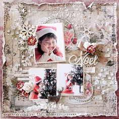 Blue Fern Studios  DT work  ~Noel~ - Scrapbook.com