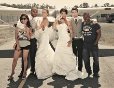 Virginia Beach Fashion Photographer Keith Cephus | Aviation Styled Bridal Shoot!