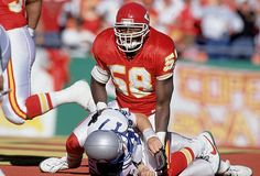 12d93f6913d Kansas City Chiefs linebacker Derrick Thomas set an NFL record when he had  seven sacks in a game against the Seattle Seahawks. Few players have come  close