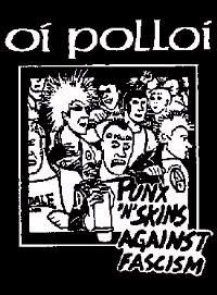 Oi Polloi- Punks N Skins Against Fascism poster