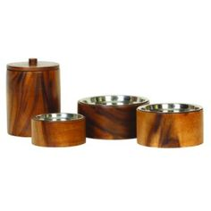Introducing our new range of Luxury Dog Bowls.Anything but plain, the simple cylindrical dog feeders are made of Natural Acacia Wood. Bering, Stainless Steel Bowl, Wood Dog, Pet Feeder, Pet Costumes, Dog Feeding, Pet Bowls, Wood Bowls, Acacia Wood