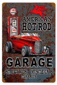 "Metal Street Sign Cadillac Court Car Truck Hot Rod Garage Man Cave Decor 3/""x18/"""