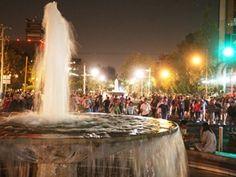 Noche de paseo por Chapultepec, Guadalajara, Jalisco