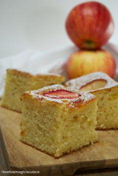 Torta di mele e yogurt….con rose di mele!   Barbie magica cuoca - blog di cucina