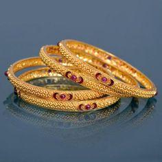 jewellery | gold | bangles_kangans | bangles #GoldJewelleryIndian