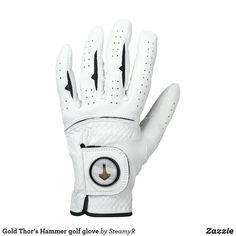 Gold Thor's Hammer golf glove Union Jack, Monogram Gifts, Monogram Initials, Letter Monogram, Vintage Monogram, Monogram Design, Mens Monogram, Mardi Gras, Boxing