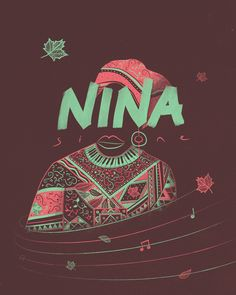 "Nina Simone ""High Priestess of Soul"" Poster by Brainbou (via Creattica)"