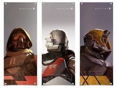 Titan banner from the Bungie store. God I can't wait for Destiny. Game Character, Character Concept, Character Design, Concept Art World, Game Concept Art, Destiny Helmet, Halo, Destiny Bungie, Matte Painting