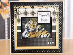 Rawr! Check out our Pollyanna Pickering range of DVD's and papercraft collections at C&C. / cardmaking / craft / scrapbook / DIY