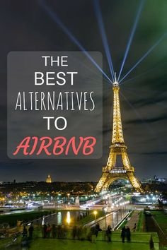 Looking for an alternative to AirBnB? This list of options has you covered, from major competitors through to niche offerings - something for every budget and taste around the world!
