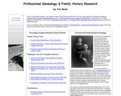 Genesearch Professional Genealogy -- click the image to go to the website