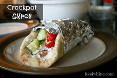 Crockpot Gyros