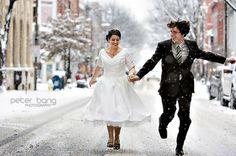 www.weddbook.com everything about wedding ♥ Winter Wedding Photography Idea } Kis Dugunu Fotograflari #winter #photo