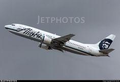 Photo of N756AS - Boeing 737-4Q8 - Alaska Airlines