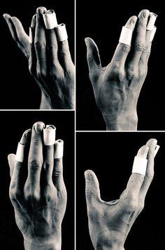 Michael's hands