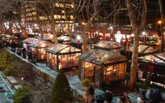 Winter Village at Bryant Park, New York City - America's Best Christmas Markets | Travel + Leisure