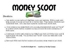 Review Money with your kiddos in a super fun way! If you have never played