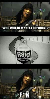 Who Will Be My Next Opponentp Raid House&garden Bug Killer Ftk Mortal Kombat Comics, Mortal Kombat Memes, Mortal Kombat Xl, Kung Jin, Video Game Movies, Video Games, Garden Bugs, Mortal Combat, Mileena