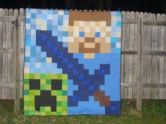 New Minecraft inspired Steve sword creeper by jensales1993, $325.00