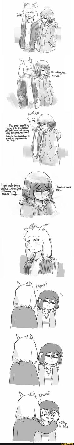 undertale, frisk, chara
