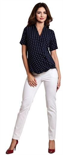 Marine рубашка в морском стиле для будущих и кормящих мам