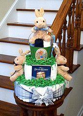 Peter Rabbit - Cute Diaper Cake