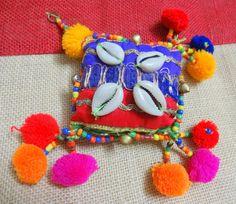 Cowrie Shell TasselPurse & Handbag by uDazzleSupplies on Etsy