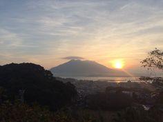 桜島の日の出