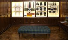 Kingsman Collection Presentation in the Pop-Up Store in Savile Row, London #KingsmanCollection