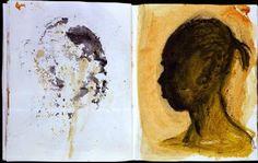 %Titulo_ant% (Miquel Barcelo) Miquel Barcelo, Artist Sketchbook, Book Show, Various Artists, Watercolor And Ink, Moleskine, Ant, Sketchbooks, Faces