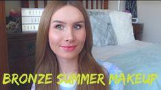Warm Bronze Summer Makeup Tutorial