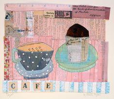 'Cafe': Elaine Hughes
