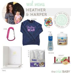 Real Moms Favorite Baby Products - Heather & Harper