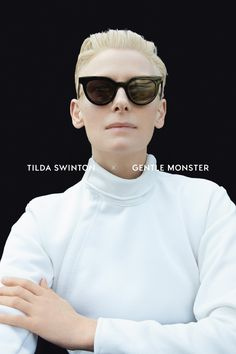 e2baf94d415a TILDA SWINTON X GENTLE MONSTER Fashion Models