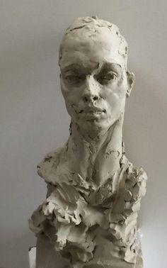 Sculpture Head, Modern Sculpture, Sculptures, Ceramic Sculpture Figurative, Clay Art Projects, Art Antique, Art Folder, Statues, Art Brut