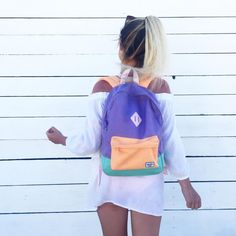 salty hair & fresh tan lines ☀️☀️☀️ Emma Verde, Insta Goals, Tan Lines, Herschel Heritage Backpack, Photo Instagram, Jansport, Photos, Hair Beauty, Womens Fashion