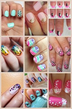I want to do my nails now..haha