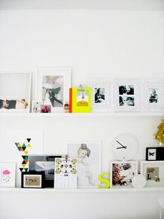 layered shelf objects