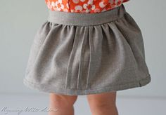Running With Scissors: Tutorial: Pin-tucked Toddler Skirt & Music Class Blouse